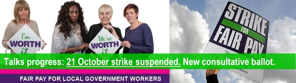 Pay strike suspended