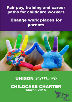 UNISON Scotland Childcare charter March 2015 image 5