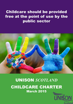 UNISON Scotland Childcare charter March 2015 image 3