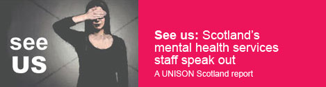 See us: Scotland's mental health services staff speak out