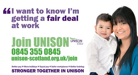 Stronger Together - Join UNISON