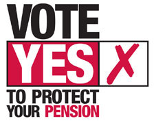 Vote YES to Protect your Pension