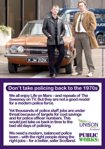 Police staff A5 leaflet March 2012