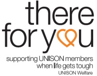 UNISON Welfare is our own unique registered charity